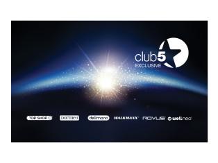 Klub 5* Exclusive kartica za popuste Top Shop