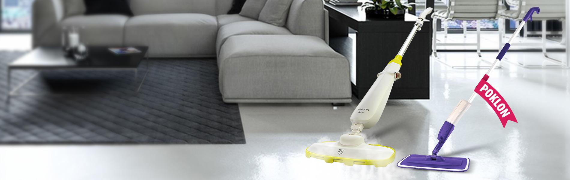 Nano paročistač + POKLON Spray Mop čistač podova
